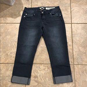 Dark Capri jeans